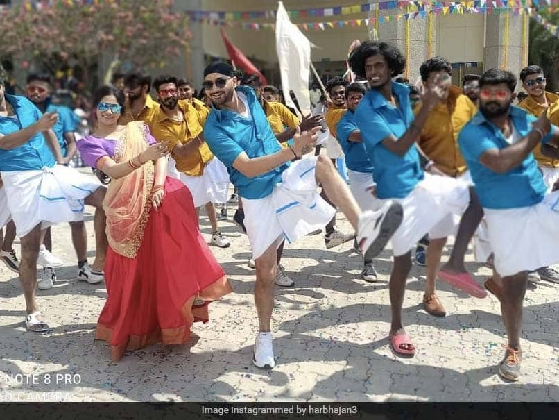 Harbhajan Singh Begins Final Schedule Of Debut Tamil Movie Friendship. See Pics