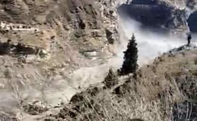 Video: Moment Torrent Crashed Into Uttarakhand Dam, Swept Away Workers - NDTV