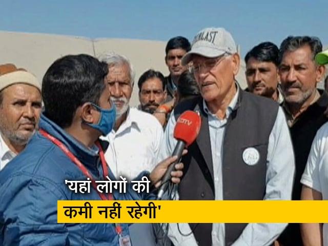 Videos : आंदोलन में काफी लोग जुट रहे हैं- राजा राम मील