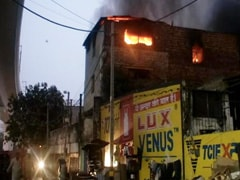 1 Killed In Fire At Delhi Factory