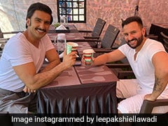 Ranveer Singh And Saif Ali Khan Clicked Together Having Coffee; Internet Is Excited