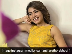 Samantha Ruth Prabhu Gets Ready For Sunny Days In A Bright Yellow Dress