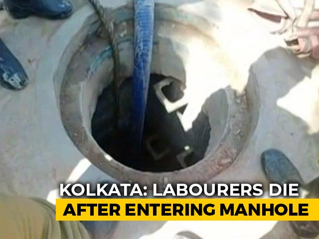 Video : 4 Manual Scavengers Killed In Kolkata, 3 Hospitalised