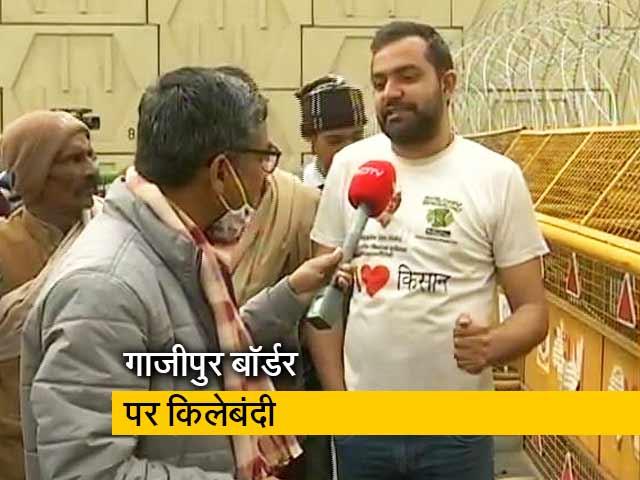 Videos : किसान आंदोलन का 71वां दिन, गाजीपुर बॉर्डर से ग्राउंड रिपोर्ट