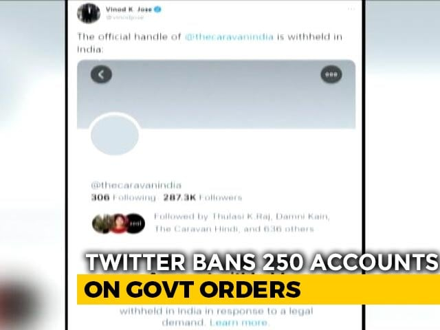 Video : Prasar Bharati CEO's Twitter Handle Among Accounts Suspended