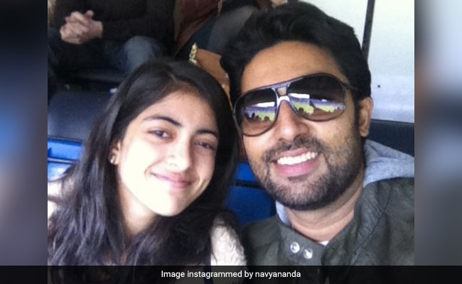 On Abhishek Bachchan's Birthday, Niece Navya Naveli's Toast To 'Favourite Family Member'
