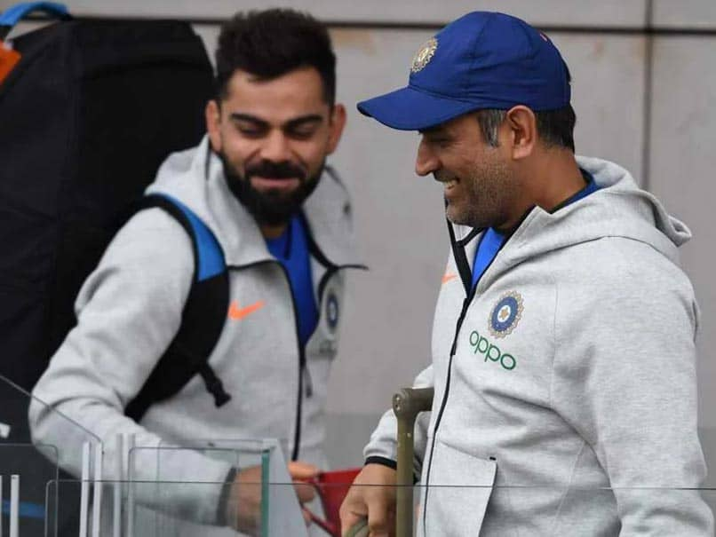 """Means Nothing To Me,"" Says Virat Kohli On Possibly Breaking MS Dhonis Test Record"
