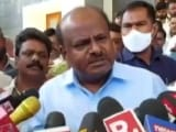 Video : Threatened For Money For Ram Temple Donation, HD Kumaraswamy Alleges