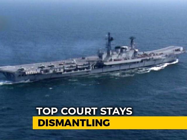Video : INS Viraat's Dismantling Kept On Hold, Supreme Court Notice To Owner
