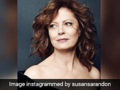 Hollywood Veteran Susan Sarandon Supports Farmers Protest
