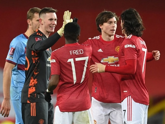 FA Cup: Manchester United Beat West Ham In Extra-Time, Burnley Crash Out