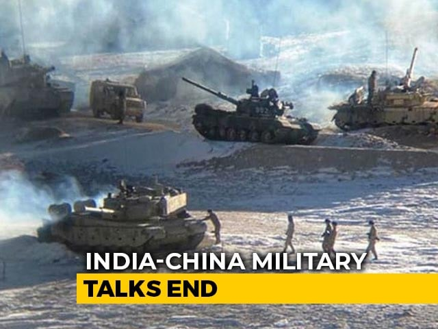 Video : India-China Military Talks End, Next Phase Of Disengagement Discussed