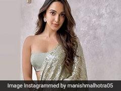 Kiara Advani Illuminates Like There's No Tomorrow In A Sparkly <i>Saree</i>