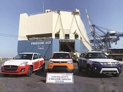 Maruti Suzuki Exports Cross 2 Million Milestone