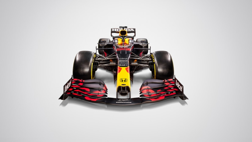 The RB16B features changes for the new 2021 regulations and the new Honda PU.