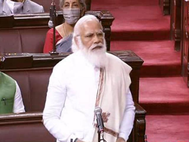 "Video : ""India Land Of Opportunities,"" Says PM Modi In Parliament"