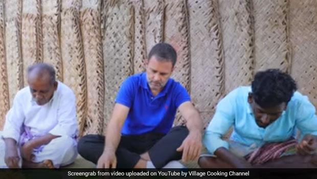 Watch: Rahul Gandhi Turns Chef On Online Cooking Show; Makes Tamil Nadu's Popular 'Kaalan Biryani'