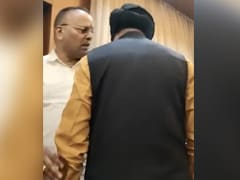 """""""Go Be A Sycophant"""": Ex-Chhattisgarh Minister's Outburst At BJP Meeting"""