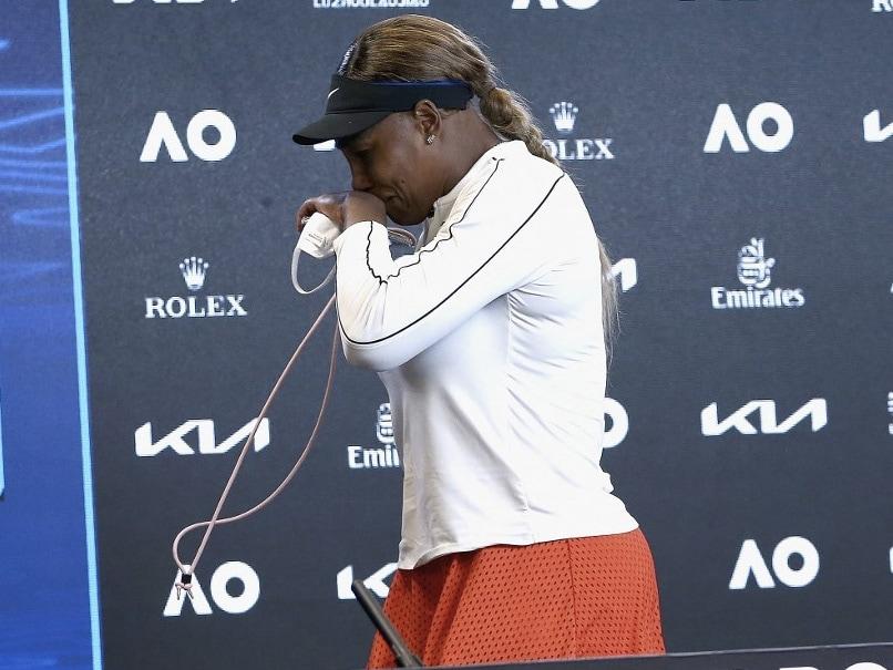 """Im Done"": Serena Williams Walks Out In Tears After Australian Open Semi-Final Defeat"