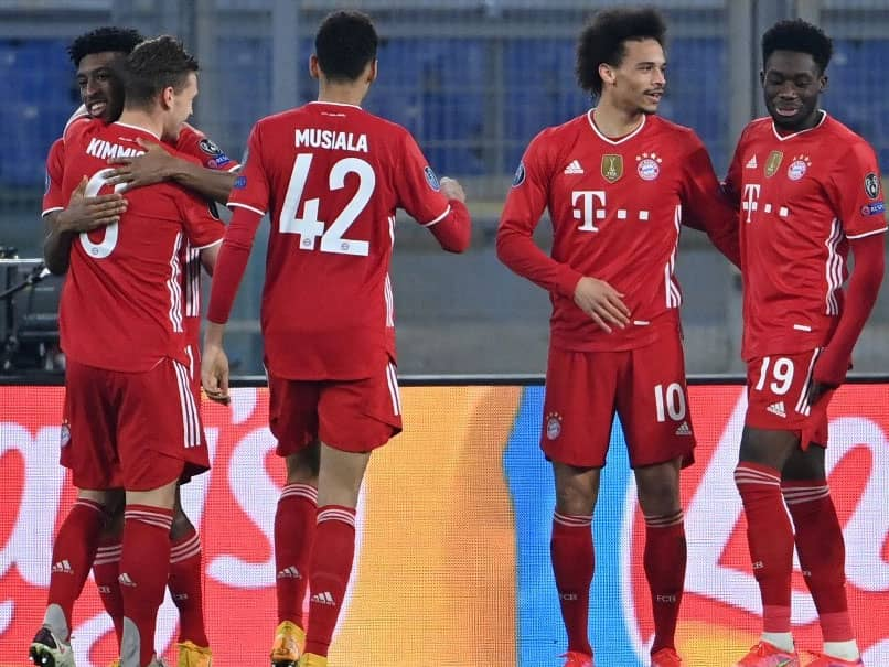 Bayern Munich Rout Lazio To Put One Foot In Champions League Quarter-Finals