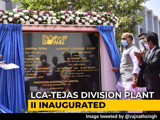 Video : Rajnath Singh Opens New Plant To Double Homegrown Fighter Plane Production