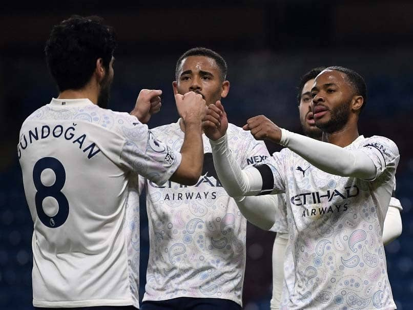 Premier League: Slick Manchester City Sink Burnley To Move Three Points Clear