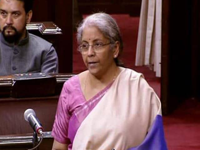 Video : Nirmala Sitharaman Replies To Budget Discussions In Parliament