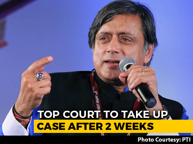Video : Shashi Tharoor, 6 Journalists Won't Be Arrested For Now: Supreme Court