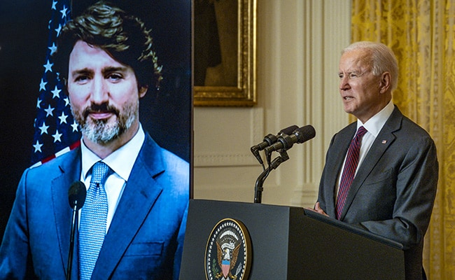 Joe Biden, Justin Trudeau Pledge To Counter China, Climate Change, In First 'Meeting'