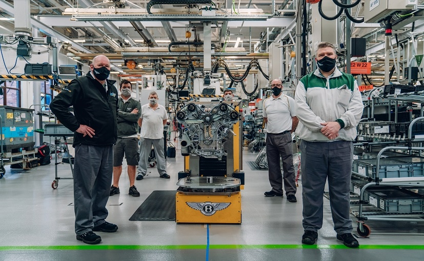 Each W12 engine is hand-built over 6.5 hours by a team of 45 craftspeople