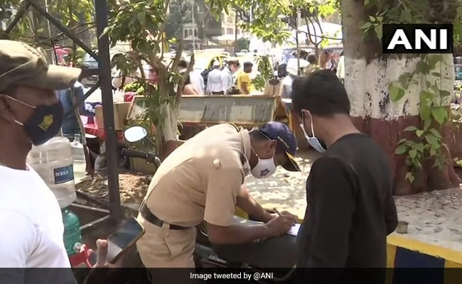 Mumbai Police's Signature Witty Warning On Covid Norms