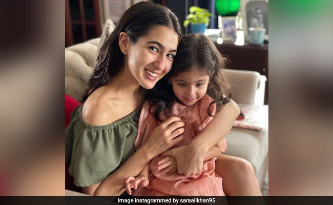 Sara Ali Khan And Sister Inaaya In A Picture Perfect Moment
