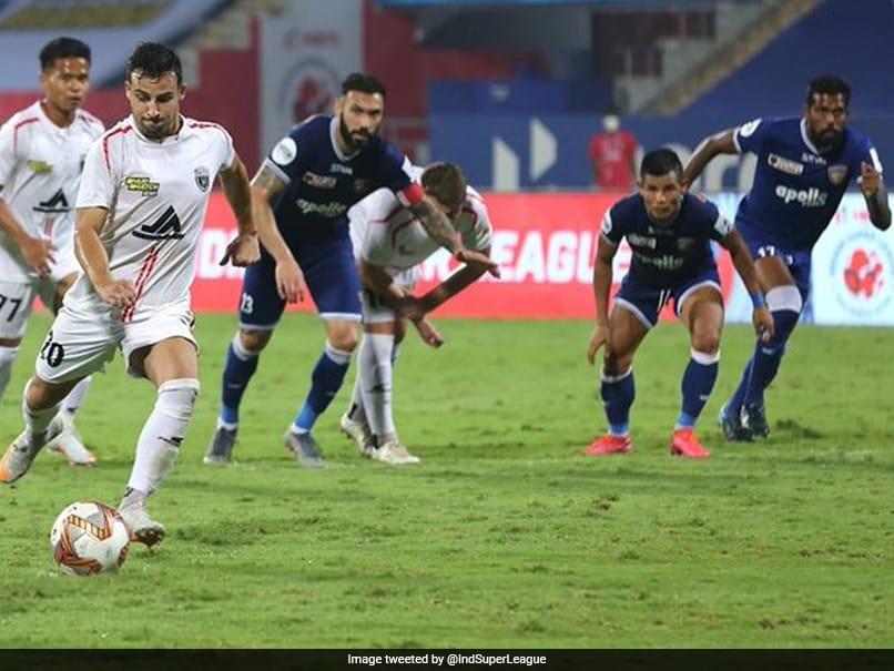 ISL: Luis Machados Late Penalty Earns NorthEast United A Draw vs Chennaiyin FC