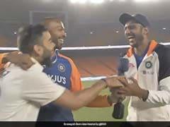 India vs England, 3rd Test: Virat Kohli Crashes Axar Patel's Interview With Hardik Pandya. Watch