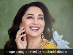 Madhuri Dixit Is A Ray Of Sunshine In A Bright Yellow Ethnic Outfit