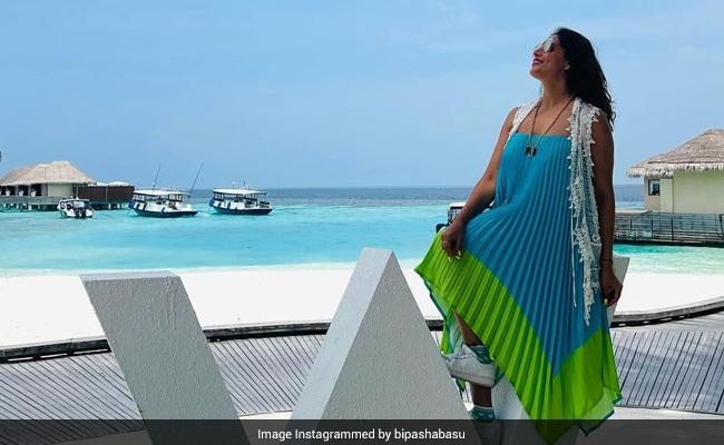 Bipasha Basu, Holidaying In Maldives, Shares This Perfect  Pic