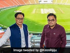 India vs England: Kiren Rijiju And Jay Shah Visit Mesmerising Hall Of Fame Zone At Motera Stadium