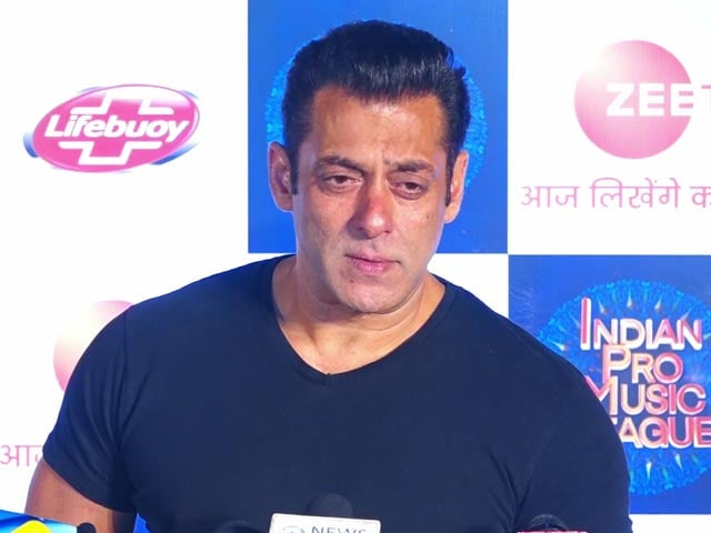 Video : The Most Correct Thing Should Be Done: Salman Khan On Farmer Protests
