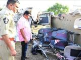 Video : 14 Killed In Andhra Pradesh Bus Accident, 4 Survivors Are Children
