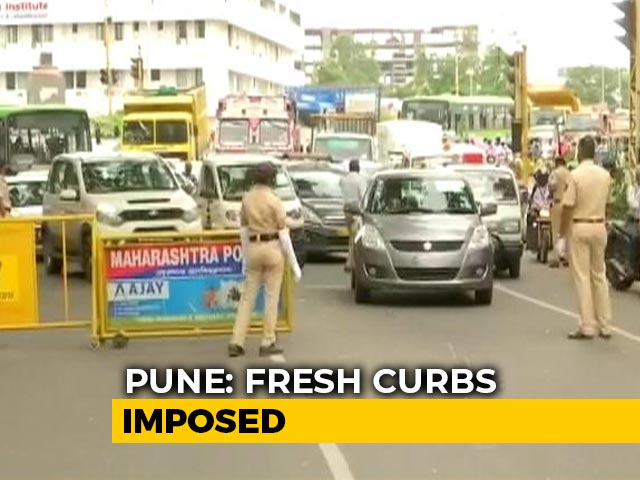 Video : Amid Covid Surge, Schools, Colleges Closed In Pune Till Next Week