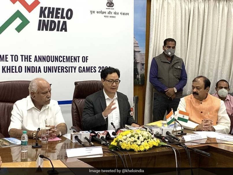 Confident That Karnataka Will Make Khelo India University Games 2021 Grand Success, Says Kiren Rijiju