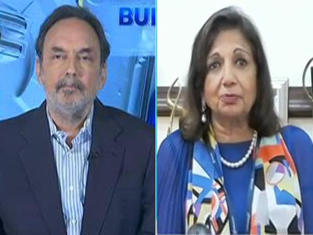 Video : Was Expecting Research Incentive For Private Sector: Kiran Mazumdar Shaw On Budget