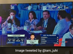 Spotted: Shah Rukh Khan's Son, Juhi Chawla's Daughter At IPL Auction