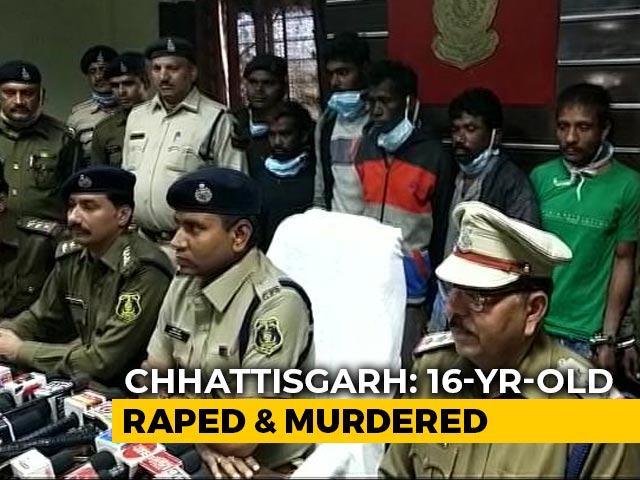 Video : 16-Year-Old Raped, Killed With Sticks And Stones In Chhattisgarh: Police
