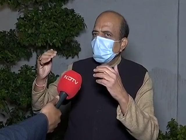 "Video : ""PM, Amit Shah Friends, Nothing Wrong In Joining BJP"": Dinesh Trivedi"