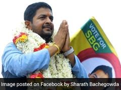 Independent Karnataka MLA Sharath Bachegowda, Son Of BJP MP, To Join Congress