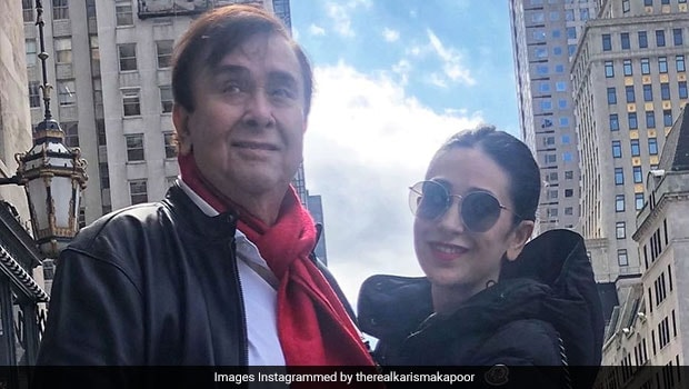 Kareena, Karisma Celebrate Father Randhir Kapoor's Birthday With Special Cake - NDTV Food