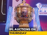 Video : A Look Ahead To IPL Auction 2021