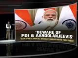 Video : 'New FDI, <i>Andolan Jeevis Jamaat</i>': Decoding PM's Speech in Parliament