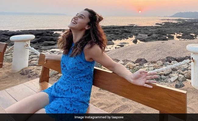 Taapsee Pannu Reveals The Reason Behind Her Smile In This BTS Pic